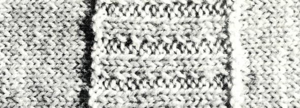 Damen Pullover mit Streifen im Rippenmuster