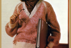 Damen Pullover mit V-Ausschnitt und Kontrastblenden