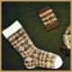 Fair Isle Strick Tradition, Fair Isle-Muster werden glatt rechts gestrickt