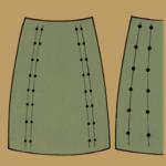 Gestrickte Röcke entwerfen