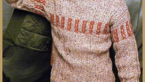 Herren Pullover mit Zopfmuster stricken, Strickanleitung