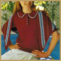 Kinder Pullover mit passendem Tuch