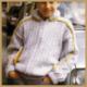 Kinder Strickjacke mit Reißverschluss selber stricken, Strickanleitung