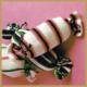 Kissen in Bonbonform stricken, kostenlose Anleitung