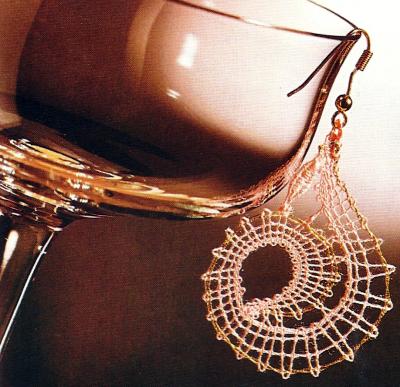 Klöppel Modell Ohrhänger