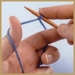 Kreuzanschlag Stricken, nicht nur für Anfänger eine gute Wahl