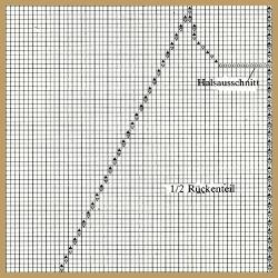 Raglanärmel Zeichnen und die Berechnung eines Raglanärmels