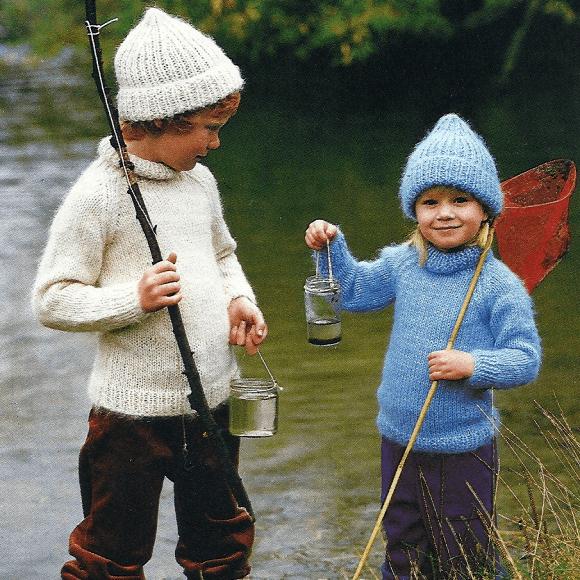 Rollkragenpullover für Kinder
