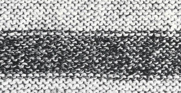 Strickanleitung Herrenpullover im bretonischen Stil