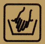 Stricksachen richtig Pflegen, wichtige hinweise sind auf der Banderole