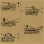 Zeichenerklärungen für Strickschriften und Strickmustern