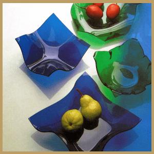 Schalen aus Acrylglas