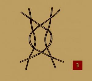 Formschlag beim Klöppeln, Umkehrschlag und Ecken