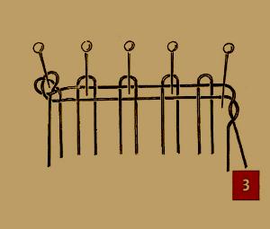 Bewickeln der Klöppel – ABC des Klöppelns