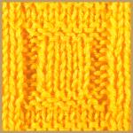 Maschenmuster für Blockmotive