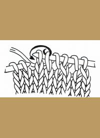 Durchbruchmuster oder Spitzenmuster stricken