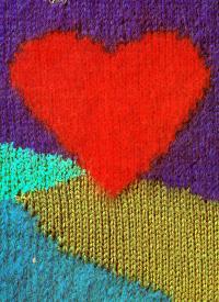 Flächen Aufteilungen in Pullovern oder Jacken