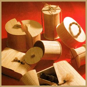 Geschenkverpackung, Dosen und Schachteln