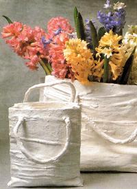 Gipstüte als Geschenk oder Deko
