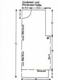 Herrenpullover stricken, in Größe 52