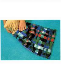 Kissenbezug mit Bändern