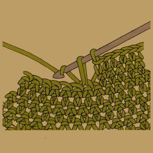 Taschen, Knopflöcher und verkürzte Reihen häkeln