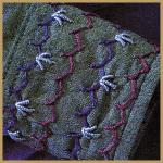 Knotenstiche, interessante Strukturen mit Knotenstichen