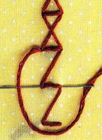 Dreieckstich