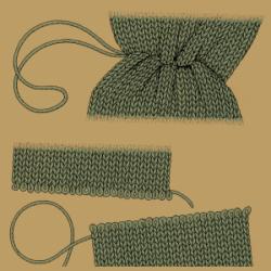 Länge von Pullovern ändern