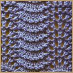 Lochstrickmuster Beispiel 18