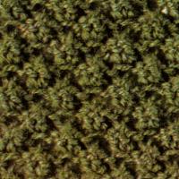 Strickmuster auf der Basis von Weizenkornmustern