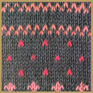 Norwegermuster werden glatt rechts gestrickt for Norweger strickmuster