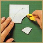 Schablonen für Patchworkarbeiten (Mustervorlagen)