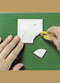 Schablonen für Patchworkarbeiten