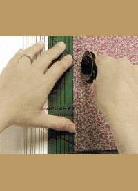 Patchworkflicken ohne Schablone zuschneiden
