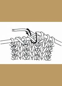 Einfaches Patentmuster Strickanleitung