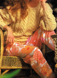 Pulli stricken, in sanften Pastellfarben