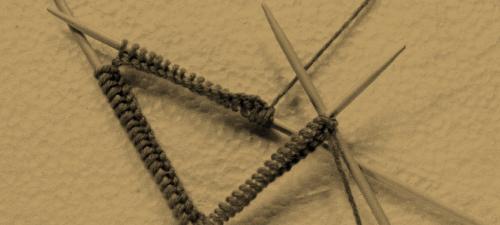 Rundstricken mit Nadelspiel