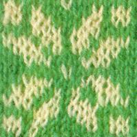 Shetlandmuster mit mehreren Farben