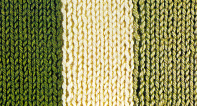 Streifen stricken