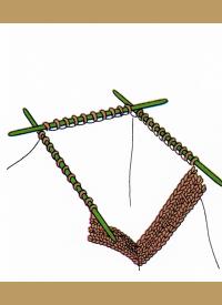 Verschiedene Kragen stricken