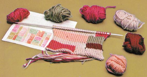 Verwertung von Wollresten