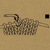 1 Masche rechts Strickschriften