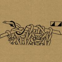 Strickschriften 2 Maschen nacheinander mit dem Umschlag rechts zusammenstricken