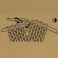 Strickschriften 2 Umschläge rechts zusammenstricken