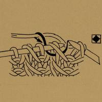 1 Masche mit dem Umschlag rechtsverschränkt zusammenstricken.