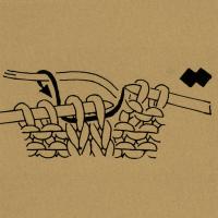 Strickschriften 2 Maschen rechtsverschränkt zusammenstricken