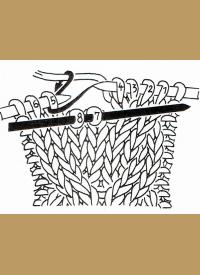 Zopfstrickmuster stricken mit Hilfsnadel